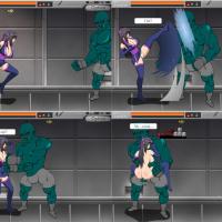 [FLASH]SHINOBI GIRL -EROTIC SIDE SCROLLING ACTION GAME- (Uncensored Version)