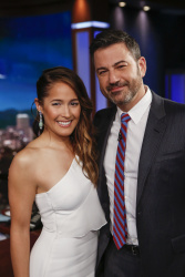 Jaina Lee Ortiz - Jimmy Kimmel Live: April 5th 2018