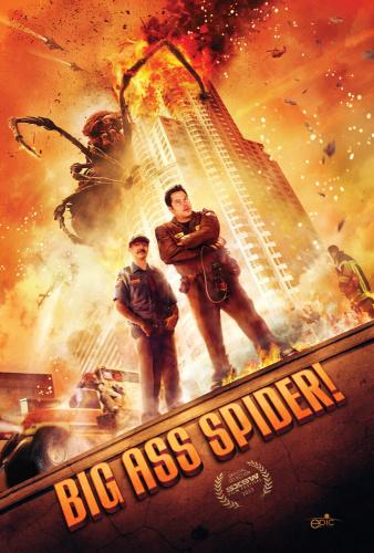 Big Ass Spider! (2013) 720p BluRay x264 ESubs [Dual Audio][Hindi+English]