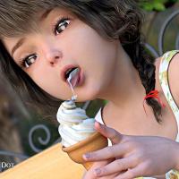 [3D VIDEO]Yukari's Doki Doki Summer Vacation