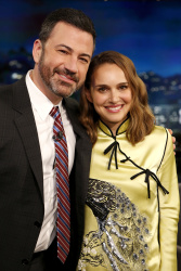 Natalie Portman - Jimmy Kimmel Live: February 15th 2018