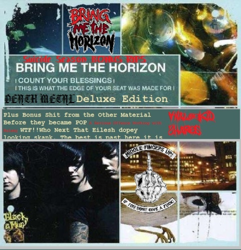 Bring MeThe Horizon Count Your Blessings From The Back of The Toilet (Death Delu...