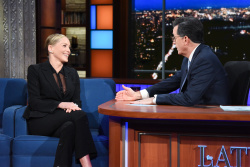 Sharon Stone - The Late Show with Stephen Colbert: January 18th 2018