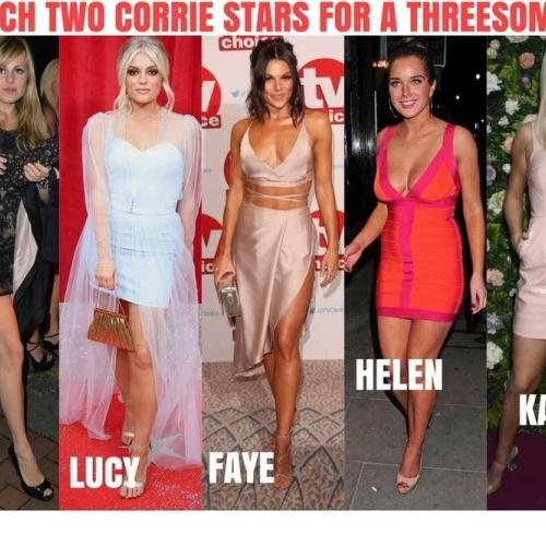 Celebrity threesome injunction pjs