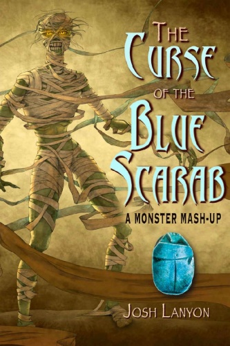 The Curse of the Blue Scarab by Josh Lanyon