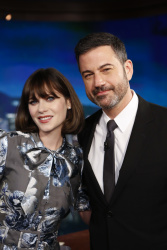 Zooey Deschanel - Jimmy Kimmel Live: April 9th 2018