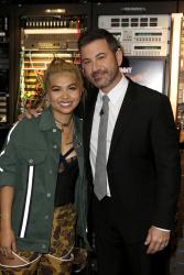 Hayley Kiyoko - Jimmy Kimmel Live: April 3rd 2018