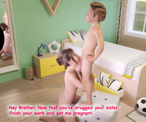[JKreh] Little Brother impregnate sister (Mother and son Vol.3)