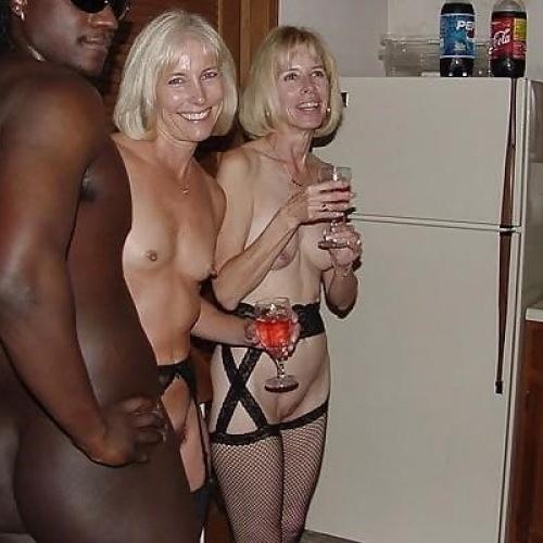 Old white women taking big black dick