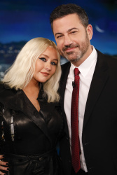 Christina Aguilera - Jimmy Kimmel Live: September 12th 2018