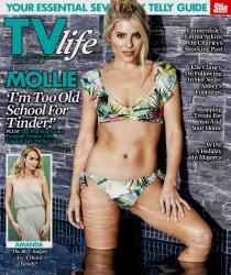 Mollie King -                               TV Life Magazine (UK) May 27th 2018.
