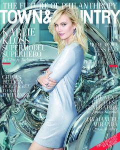 Karlie Kloss -                    Town & Country June/July (2018).
