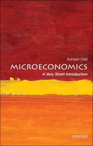 Microeconomics- A Very Short Introduction (True )