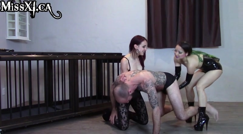 ASPASIA, XI starring in video (BRUTAL BALLBUSTING BEATDOWN) [SD 480P]