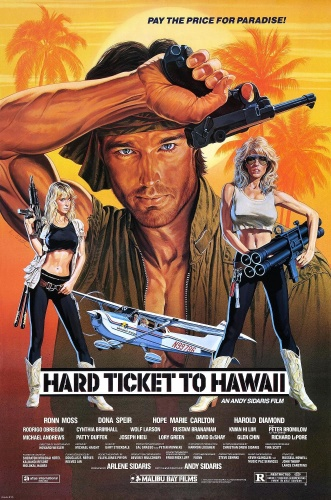 Hard Ticket To Hawaii (1987) UNRATED 720p BluRay x264 ESubs [Dual Audio][Hindi+English]-=!Dr STAR!=-