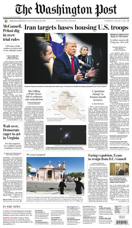 The Washington Post - Jan 8 (2020)