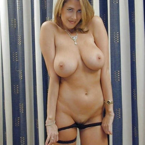 Blonde big tits milf porn