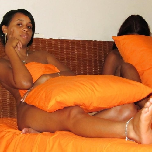 Hot young black girls nude
