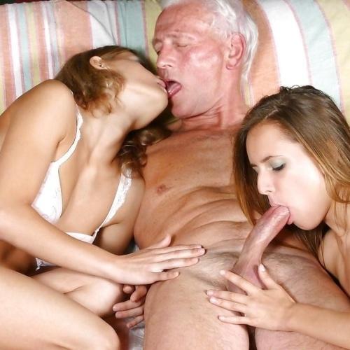 School girls having sex with old men