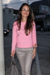 Jordana Brewster - At Craig's in West Hollywood 5/13/18