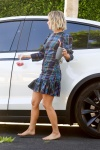 Julianne Hough showing her sexy feet barefoot in public, celebrity feet, foot fetish pictures at Karina's Foot Blog