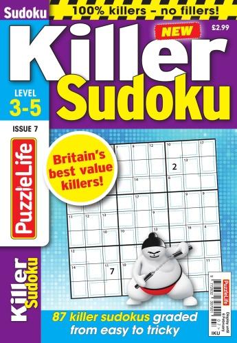 PuzzleLife Killer Sudoku  09 January (2020)
